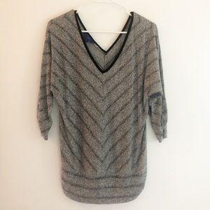 Cotton Gray Top 🌚